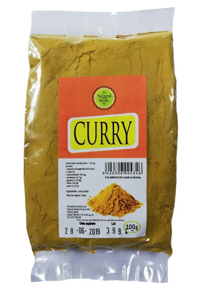 Curry pudra 100 gr